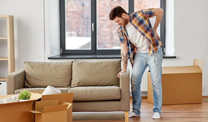 The 5 Common Moving Injuries: How To Prevent Them?
